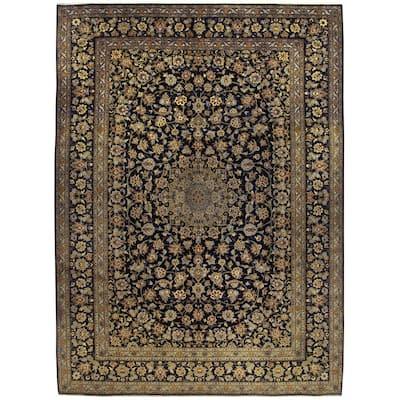 Handmade One-of-a-Kind Kashan Wool Rug (Iran) - 10'3 x 14'1