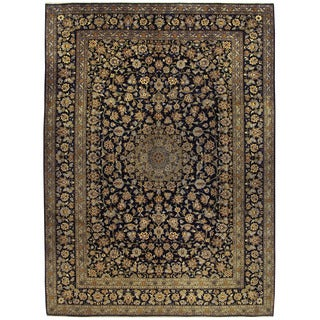 Herat Oriental Persian Hand-knotted Kashan Wool Rug (10'3 x 14'1)