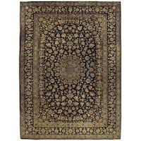 Herat Oriental Persian Hand-knotted Kashan Wool Rug (10'3 x 14'1)