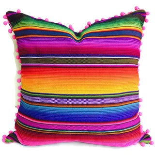 Handmade Hacienda Pillow Cover (Guatemala)