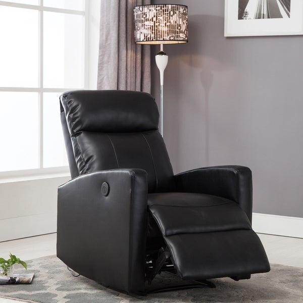 Strange Shop Ac Pacific Modern Faux Leather Small Powered Reading Caraccident5 Cool Chair Designs And Ideas Caraccident5Info