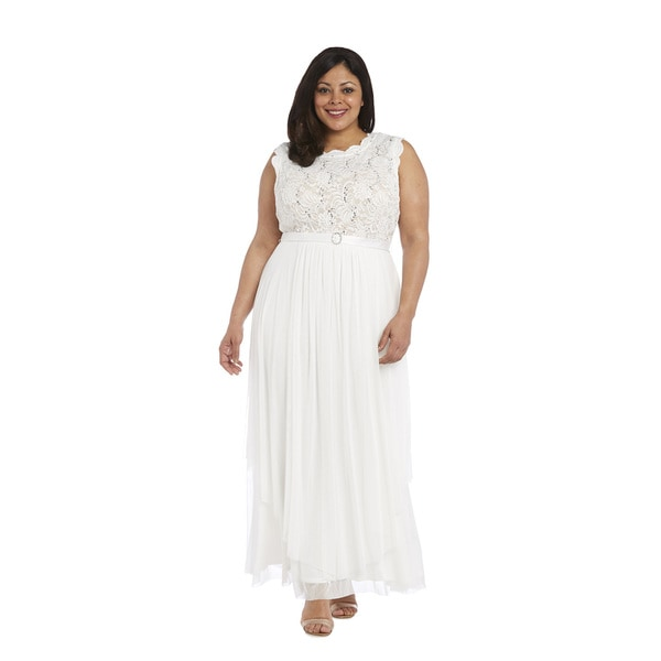 Shop R&M Richards Plus Size Evening Gown - Free Shipping ...