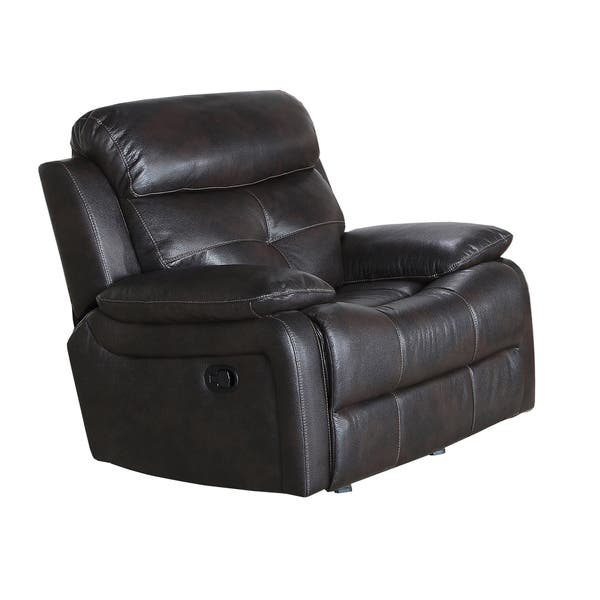 Peachy Shop Metro Jordan Java Faux Leather Cushioned Power Recliner Ncnpc Chair Design For Home Ncnpcorg