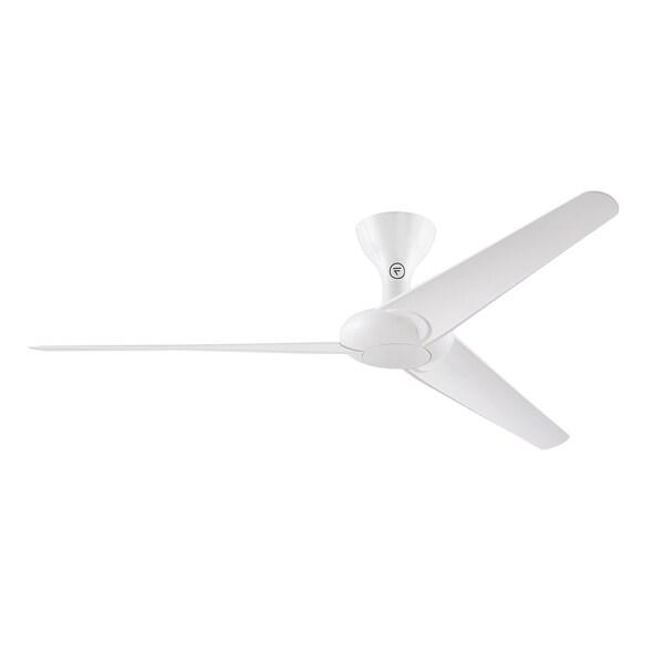 Fanimation Drone 60 Inch Ceiling Fan Glossy White