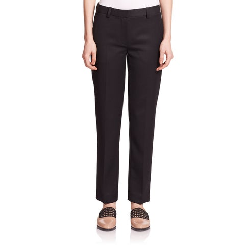 3.1 Phillip Lim Black Wool Pencil Pants