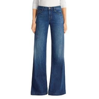J Brand Lynette Low Rise Super Wide Leg Cotton Jeans