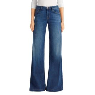 J Brand Lynette Low Rise Super Wide Leg Cotton Jeans