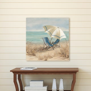 Portfolio Canvas Décor Summer Vacation II by Carol Robinson Wrapped Canvas Wall Art