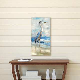 Portfolio Canvas Décor Seaside Heron II by Sandy Doonan Wrapped Canvas Wall Art