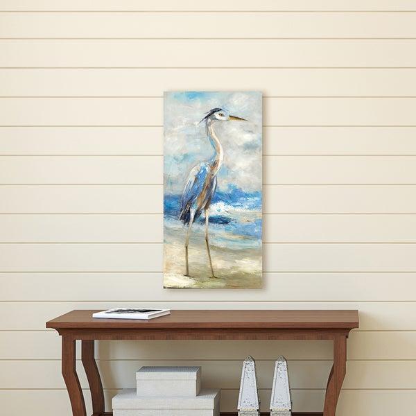 Shop Portfolio Canvas Décor Seaside Heron II by Sandy Doonan Wrapped ...