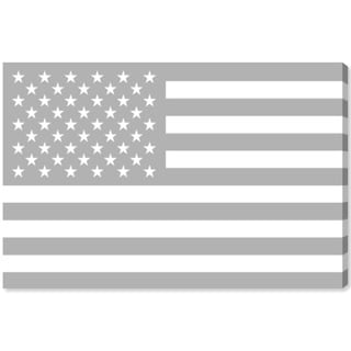 Oliver Gal 'American Flag by Tiago Magro' Canvas Art