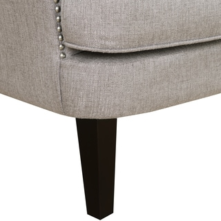 Lunar Storm Fabric Upholstered Arm Chair