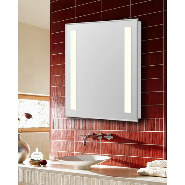 mirror 20 x 40. elegant lighting nova 2 sided led electric mirror (20 x 40) - free shipping today overstock.com 22222616 20 40 f