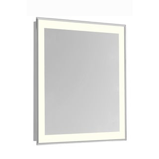 """4 Sides LED Edge Hardwired Mirror Rectangle W32""""H40"""" Dimmable 3000K"""