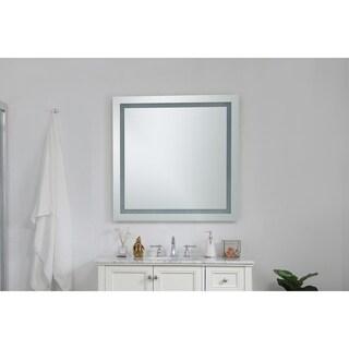 Elegant Lighting Nova 4 Sided LED Electric Mirror (36 x 36)