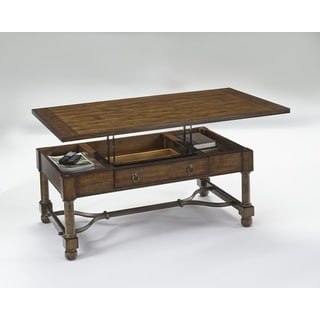 Progressive Echo Canyon Brown Distressed Finish Lift-top Cocktail Table