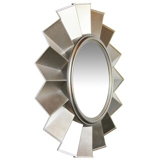 Infinity Instruments Brussels; a 20-in Silver Wall Mirror