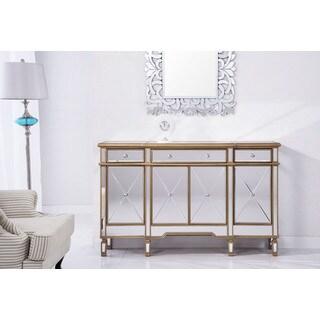 Elegant Lighting Contempo 3 Drawer 4 Door Cabinet