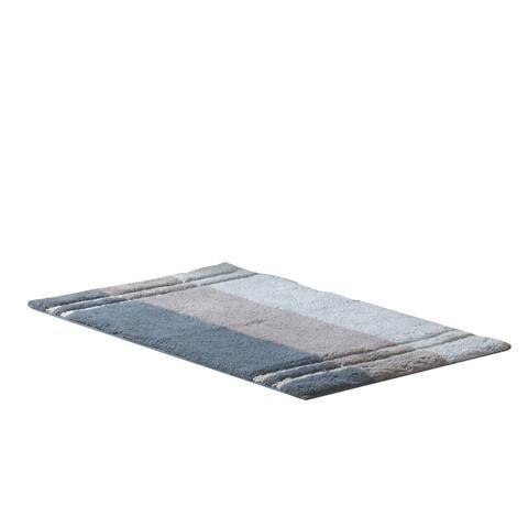 Croscill Fairfax Bath Rug - Slate