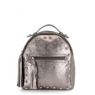 Handmade Jasbir Gill Women's Leather Backpack (India)