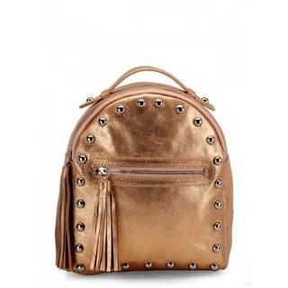 Handmade Jasbir Gill Women's Leather Backpack (India)