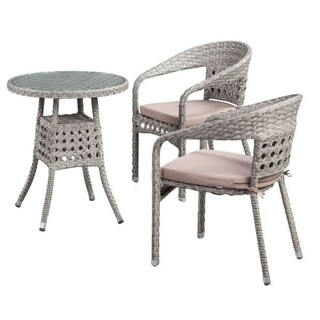 Boraam Industries Carmen 3-Piece Bistro Set