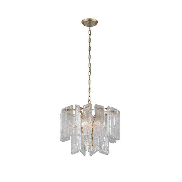 Corbett Lighting Piemonte 4-light Royal Gold Chandelier
