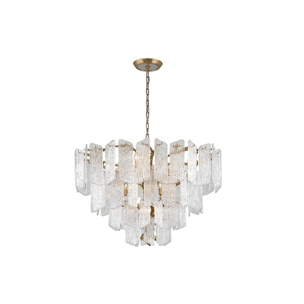 Corbett Lighting Piemonte 12-light Royal Gold Chandelier