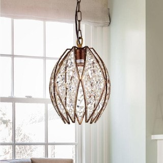 Graziel Dark Bronze 1-light Pendant Light