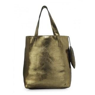 Handmade Jasbir Gill Women's Leather Tote Bag (India)