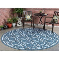 Alise Colonnade Transitional Area Rug (7'10 Round)