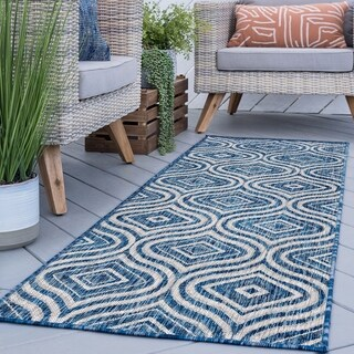 Alise Rugs Colonnade Contemporary Geometric Runner Rug