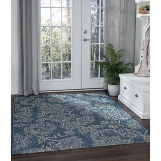 Alise Rugs Colonnade Transitional Floral Area Rug
