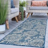 Alise Rugs Colonnade Transitional Floral Runner Rug - 2'7 x 7'3