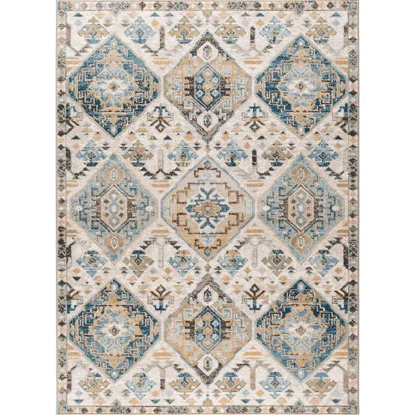 Alise Rugs Parker Transitional Area Rug (7'10 x 10'3) - multi