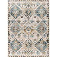 Alise Rugs Parker Multi Transitional Area Rug - 5'3 x 7'3