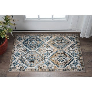 Alise Rugs Parker Multi Transitional Area Rug (2' x 3')