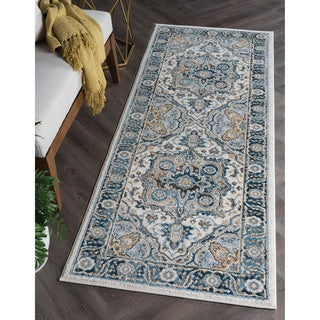 Alise Rugs Parker Multi Traditional Area Rug (2'7'' x 7'3'')
