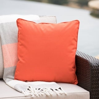 Coronado Outdoor Square Water Resistant Pillow by Christopher Knight Home