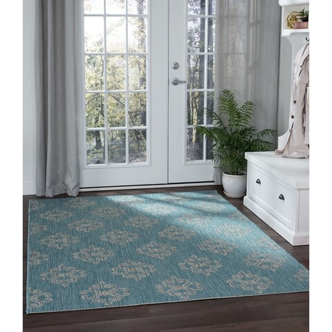Alise Rugs Colonnade Transitional Geometric Area Rug - 7'10 x 10'3