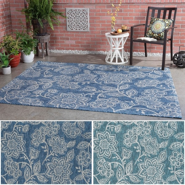 Alise Rugs Colonnade Indigo Transitional Area Rug