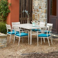Corvus Parma 7-piece Patio Dining Set with Cushions