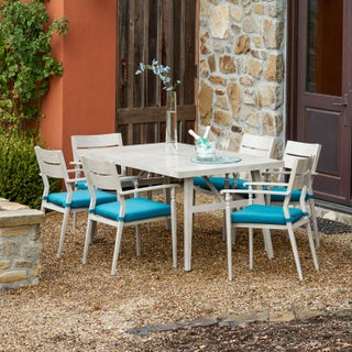 Corvus Parma 7-piece Patio Dining Set with Cushions