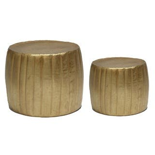 Gold Eagle Metal Planters (Set of 2)|https://ak1.ostkcdn.com/images/products/15811156/P22225699.jpg?impolicy=medium