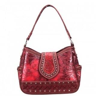 Trinity Ranch Tooling Hobo Handbag