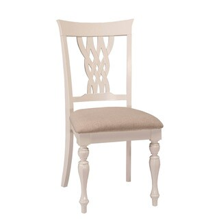 Hillsdale Furniture Embassy White Dining Chairs (Set of 2)