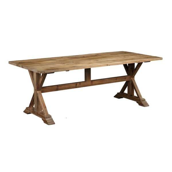 Burnham Home Designs Charlotte Rectangle Dining Table Overstock 15811503