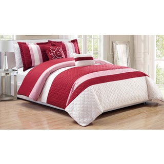 RT Designers Collection Park Ridge 5-Piece Oversized Quilted Comforter Set