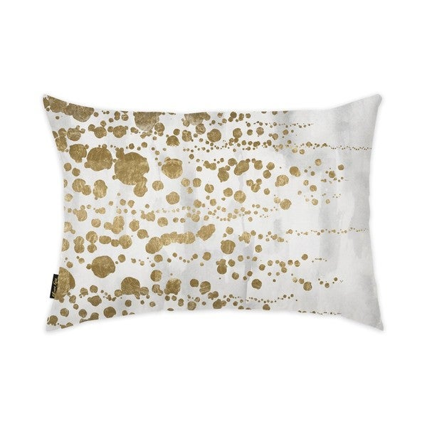 Oliver Gal 'Gradual Gold' Decorative Throw Pillow