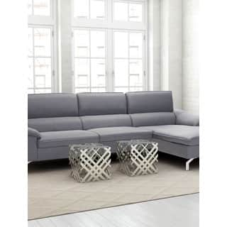 Aluminum Contemporary Coffee Console Sofa Amp End Tables